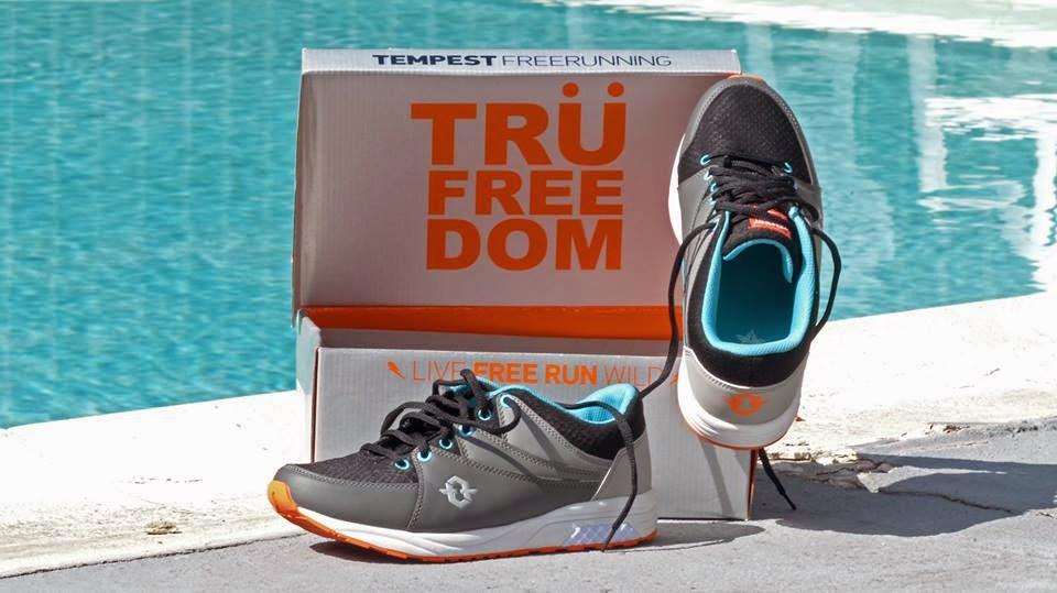 Tempest parkour shoes