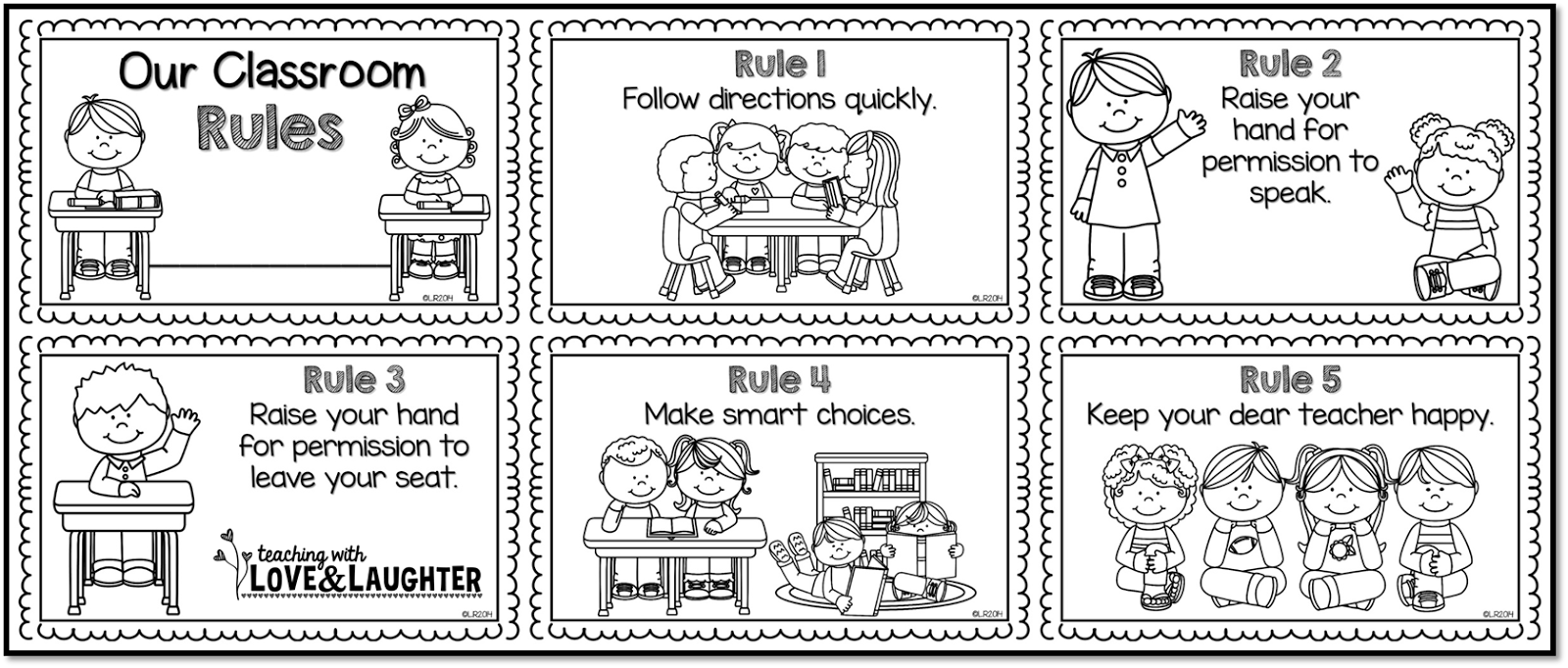 coloring pages rules - photo#11