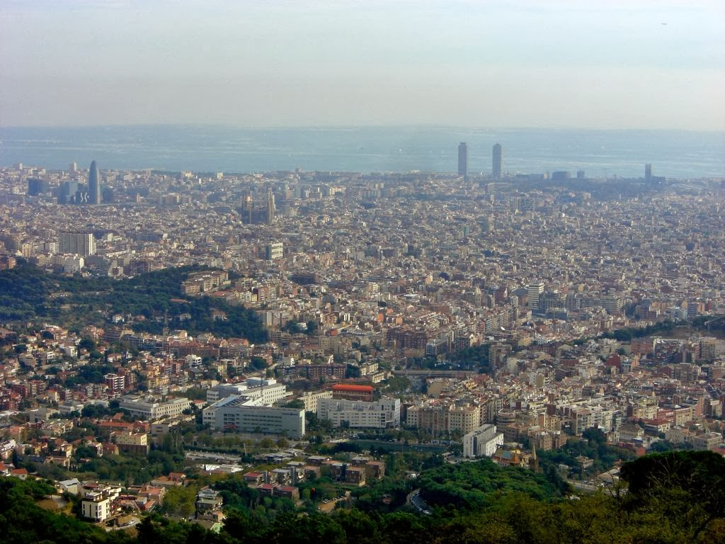 Barcelona from Tibidabo