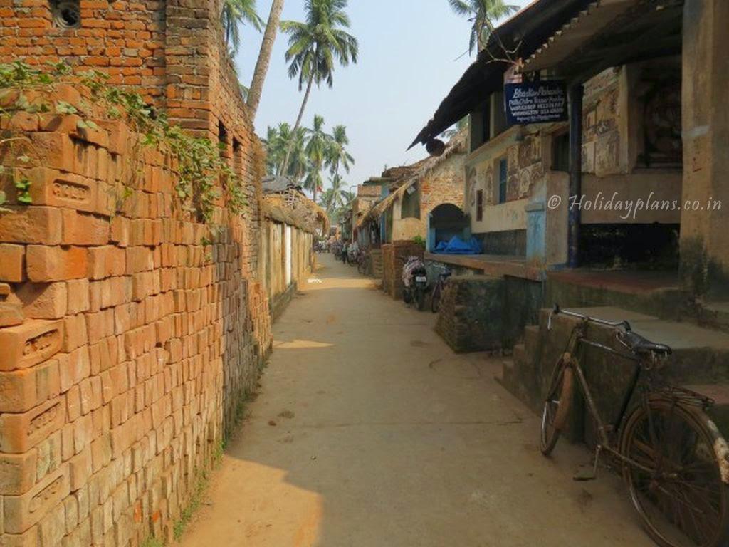 Raghurajpur- The Village Entry