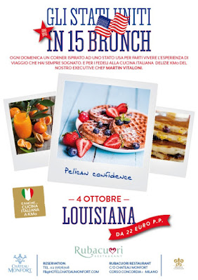 Château Monfort Sunday Brunch  Louisiana ottobre 2015
