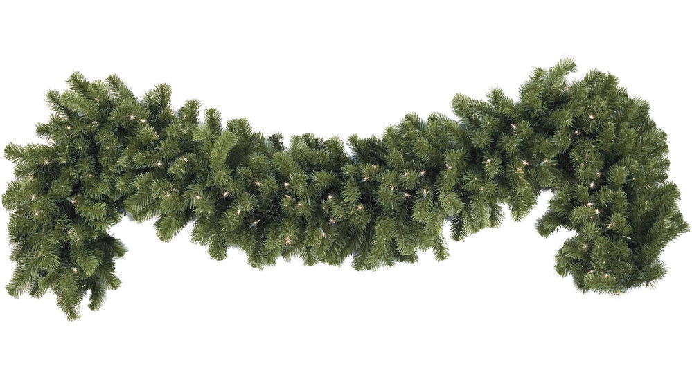 how to make your own garland for christmas