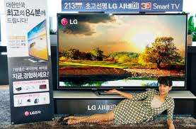 Lançamento TV Smart LG 84 polegadas