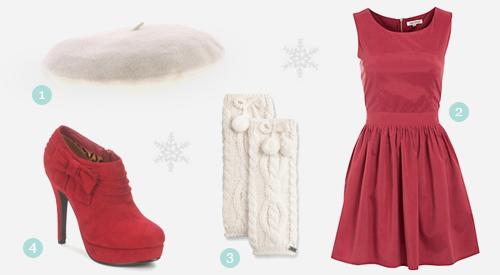 Mode quelle tenue pour les f tes de no l louise for Robe de noel rouge