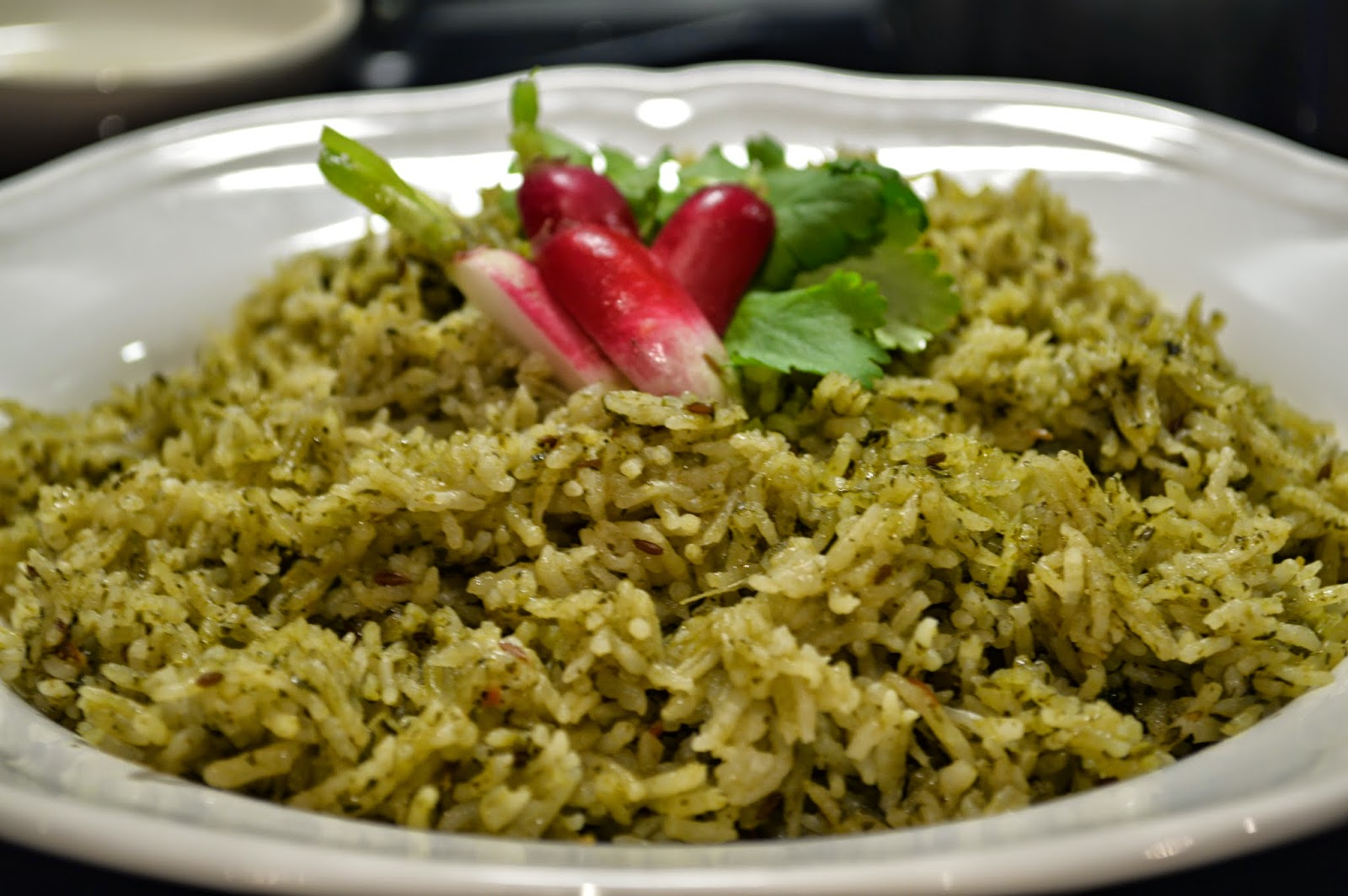 Green Rice/ Coriander Rice