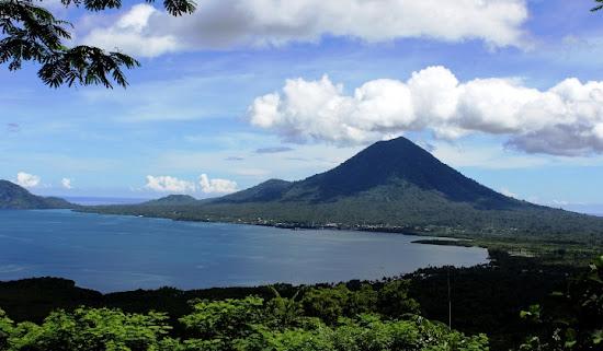 Jailolo Bay, West Halmahera, North Maluku province. AeroTourismZone