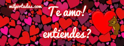 El amor en una imagen, portadas para san valentin con mensajes lindos