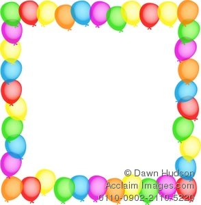 balloon designs pictures balloon borders clipart rh balloondesignspictures blogspot com Streamers and Balloons Clip Art Balloon Clip Art Bottom Border