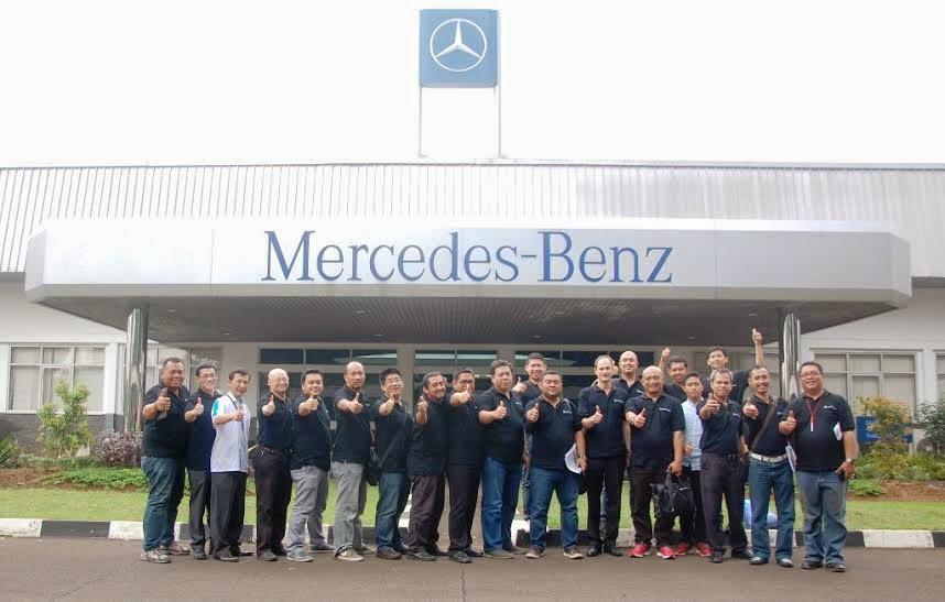 Peserta Pelatihan Mercedes Benz - IPOMI