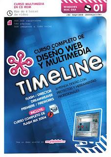 Curso completo de diseño web y multimedia TIMELINE [NRG | Español | 668.18 MB | 4 CDs]
