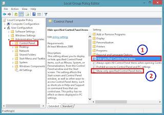 Cara Mengatasi Control Panel Windows 8 Yang Blank