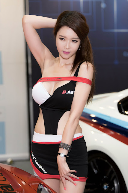 4 Yu Ri An - Seoul Auto Salon - very cute asian girl-girlcute4u.blogspot.com