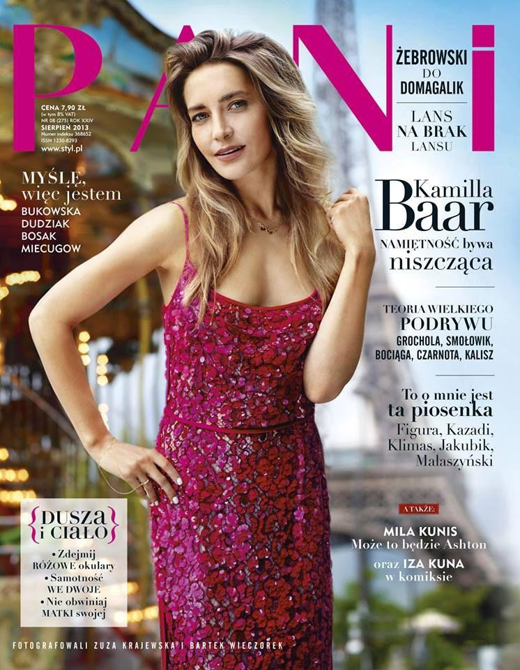 Download image Kamilla Baar On Cover For Pani August 2013 Magzspider ...
