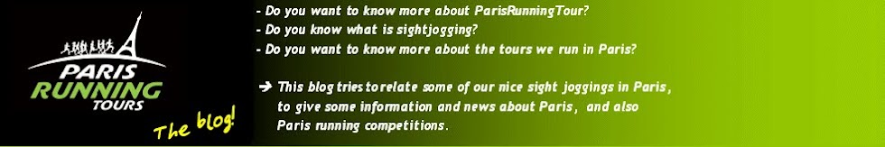 Paris Running Tour (English)