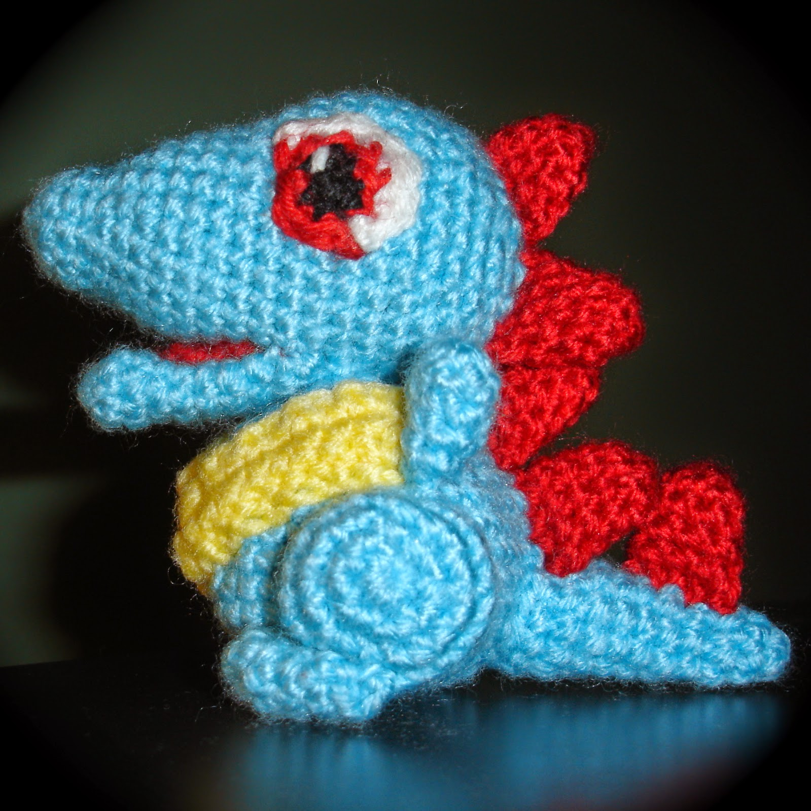 Free Patterns by H: Totodile Pokemon Pattern
