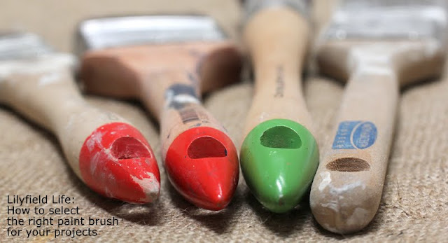 how to select the right brush for painting furniture