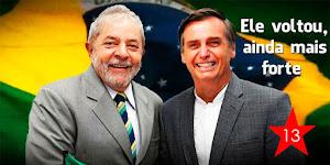 Lula - Bolsonaro
