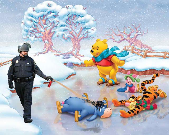 佔領華爾街 惡搞 噴胡椒警察
