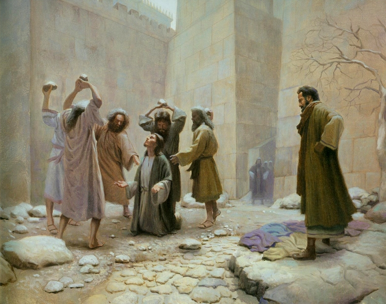Image result for The stoning of Stephen