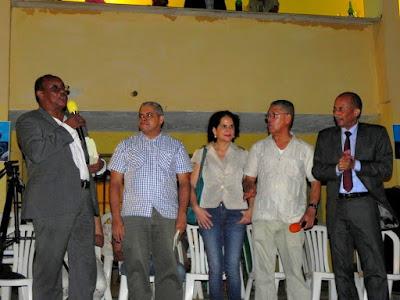 Poetas dominicanos: Mateo Morrison, Valentín Amaro, Ángela Hernández, Luis Carvajal y Rafael Nino Féliz