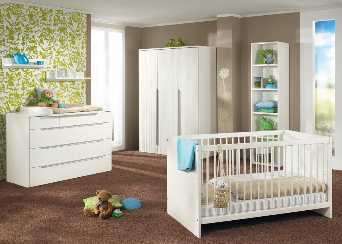 Habitaciones con estilo dormitorio para beb marr n verde - Dormitorio para bebes ...