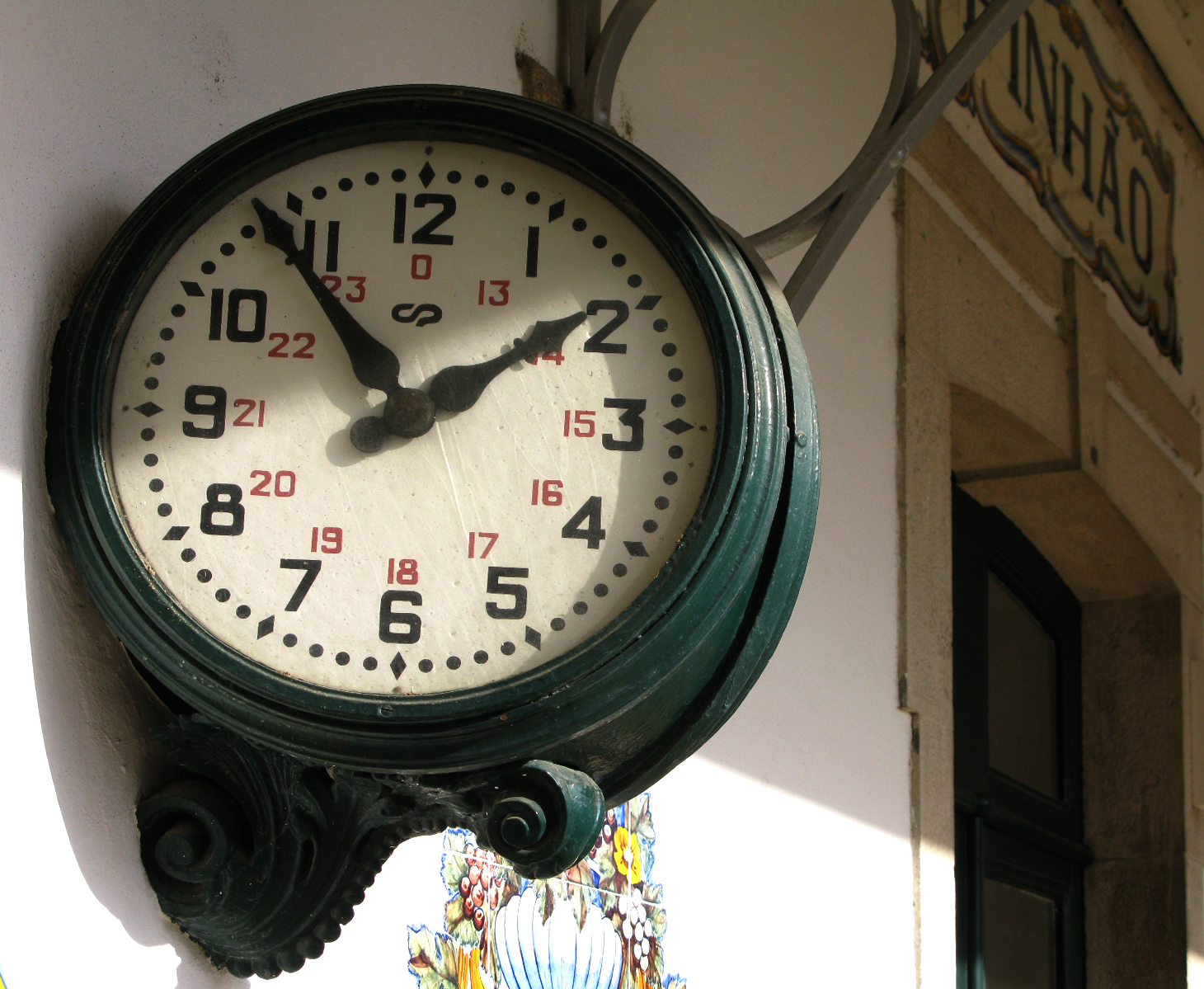 Train Station Clock Old Portuguese Stuff