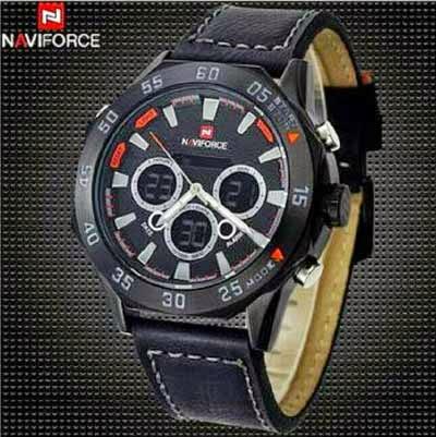 Jam Tangan Naviforce Dual Time