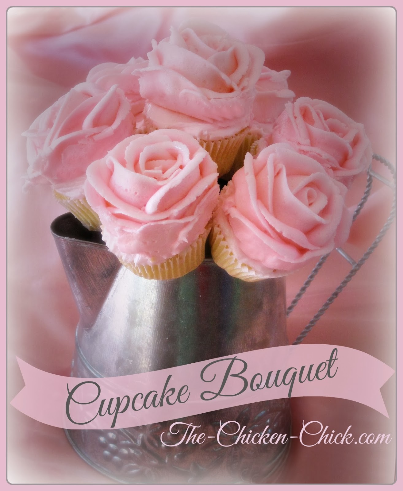 Cupcake Bouquet Tutorial | The Chicken Chick®