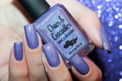 "Swatch of the nail polish ""Wishing Star Sky"" from Chaos & Crocodiles"
