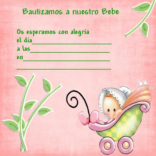 Fondos Para Invitaciones De Bautizo