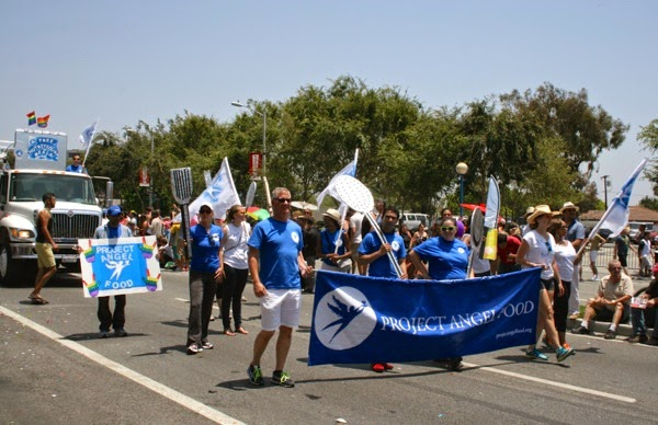 Project Angel Food West Hollywood Pride Parade 2014