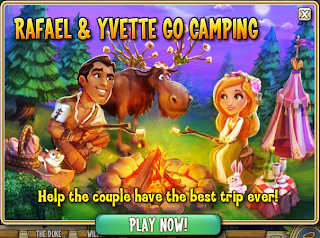 Castleville Game Rafael Yvette Go Camping Quests Guide