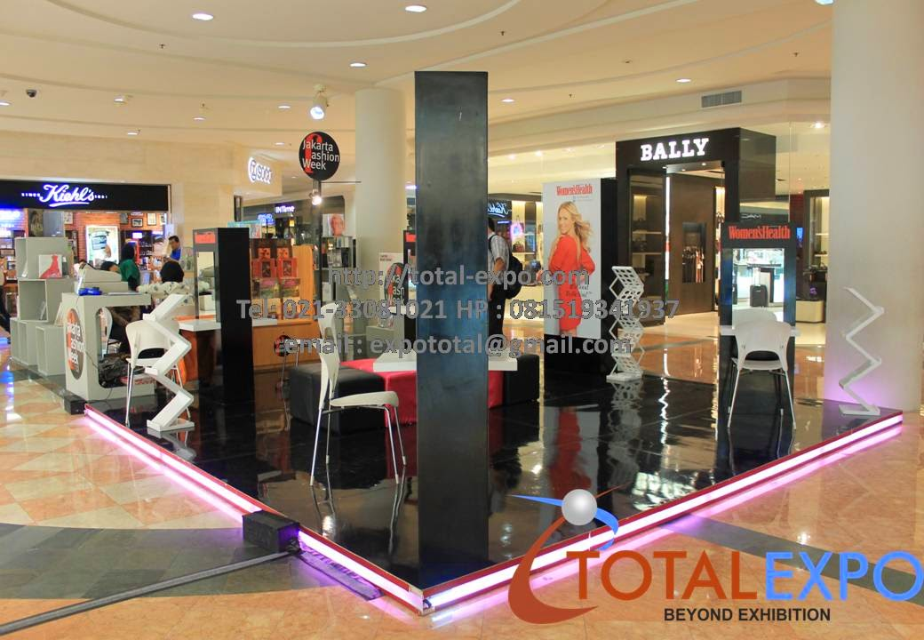 Jasa Pembuatan Booth Stand Pameran Desain Design Booth Mall Portable Knockdown Reuse