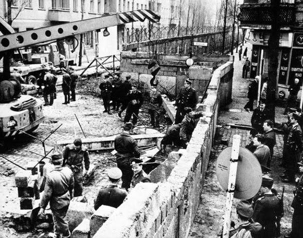 Строительство Берлинской стены, 1961