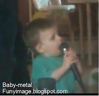 anak kecil vokal metal