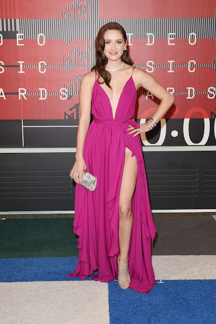 Greer Grammer at 2015 MTV Video Music Awards in Los Angeles