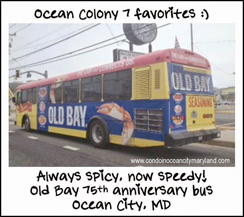 Ocean Colony 7 favorite Old Bay spice