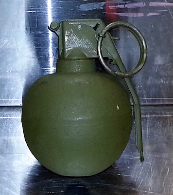 Inert Grenade Discovered at ORD