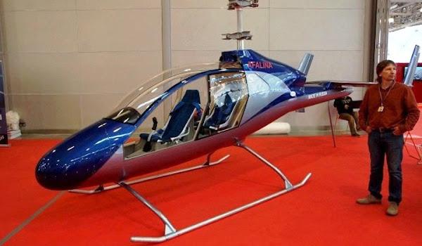 Helikopter Afalina HeliWhale. ZonaAero