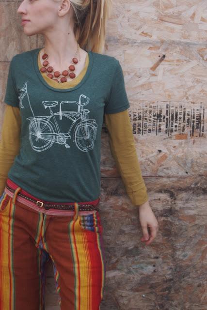 bicycle+t shirt - Road Warrior Eco Bike T-Shirt