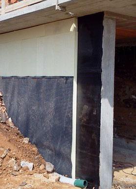 guaina bituminosa per muri controterra
