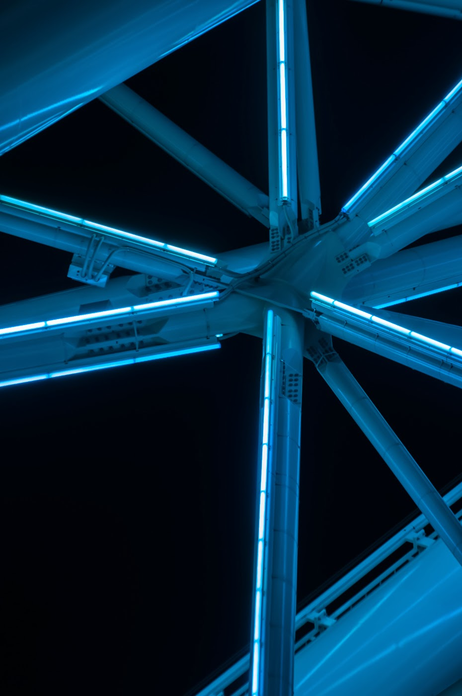 Southern star, Melbourne star, wheel, observatory wheel, Australia, sanoyas rides, corporation, architecture, architectural, architects, abstract, abstractional, abstraction, Melbourne, ride, tim macauley, detail, steel, structure, star, arup
