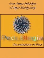 Obtuvimos el premio Pedablogia