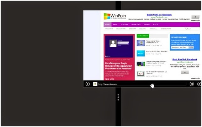 Cara Multitasking Aplikasi Modern di Windows 8