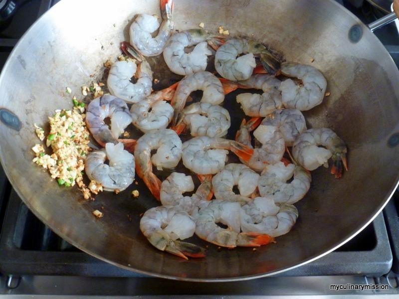 ... through my 200+ books: WW: Classic Dry-Fried Pepper and Salt Shrimp