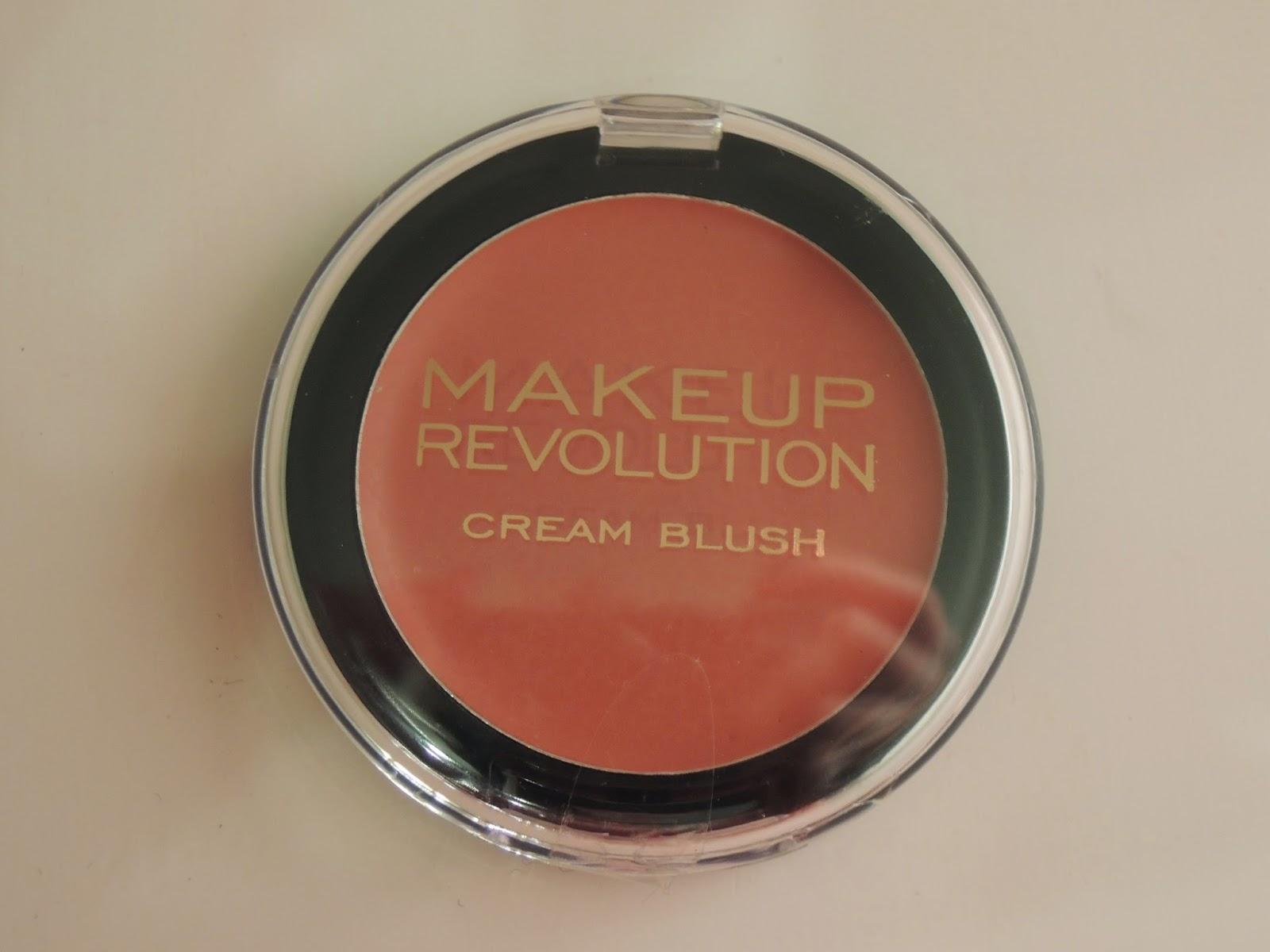 Małe, a cieszy- róż Rose Cream od Makeup Revolution
