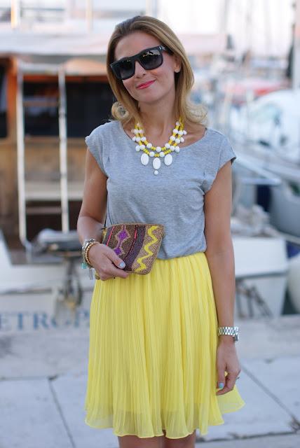 Woakao dress, Dolce & Gabbana sunglasses, Fashion and Cookies, fashion blogger