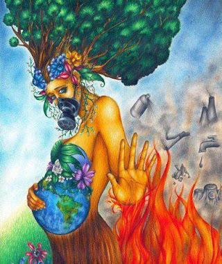 """Estamos  terminando con NUESTRA """"Madre Tierra"""""""