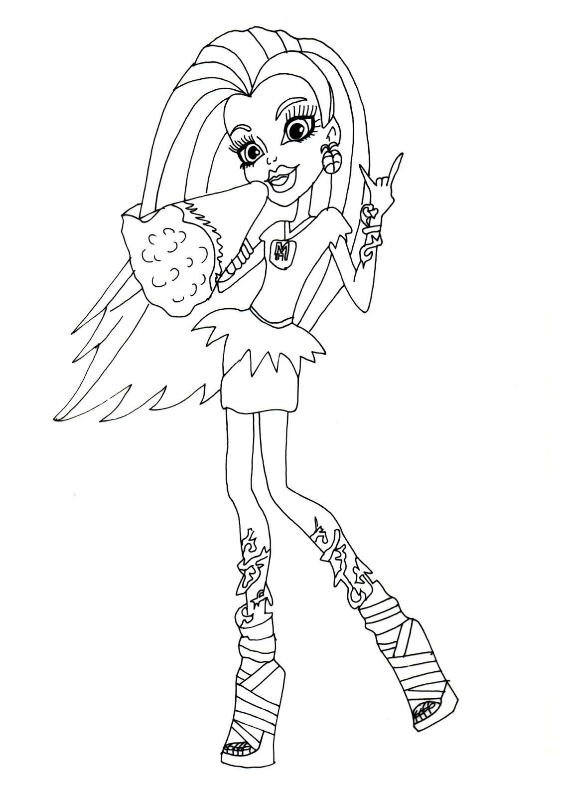 new monster high dolls 2014 coloring pages september 2013