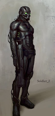 Soldier 7 - Warrior force Army project